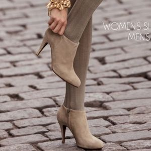 J. Crew ankle suede booties